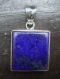 silver925*ラピスラズリペンダントトップ 2.7センチ