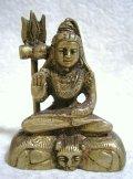 真鍮製 シバ神像 6.9センチ