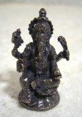 青銅製 ガネーシャ像20 豆仏像