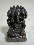 青銅製 ガネーシャ16 豆仏像