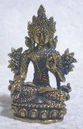 真鍮製 ターラー菩薩像 4.8センチ